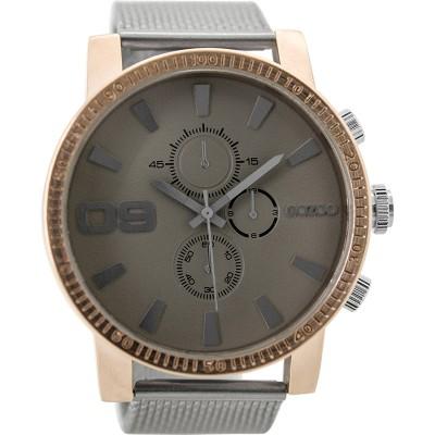OOZOO Timepieces horloge Zilver/Grijs 50mm