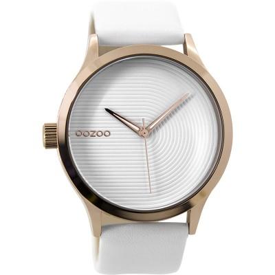 OOZOO Timepieces horloge Wit 44mm