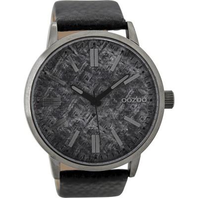 OOZOO Timepieces horloge Zwart 48mm