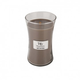 Woodwick Sand and Driftwood Large Candle