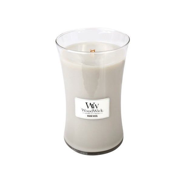 Woodwick Warm Wool Large Candle