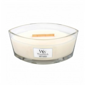 Woodwick Baby Powder Candle Ellips