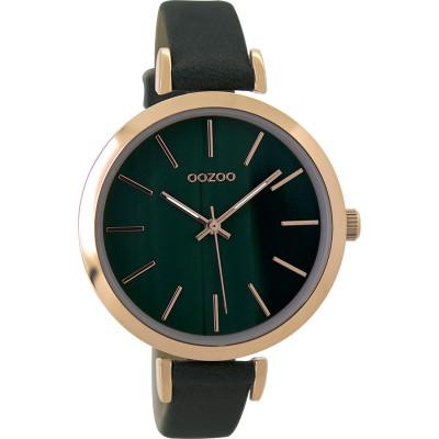 OOZOO Vintage horloge Groen 40mm