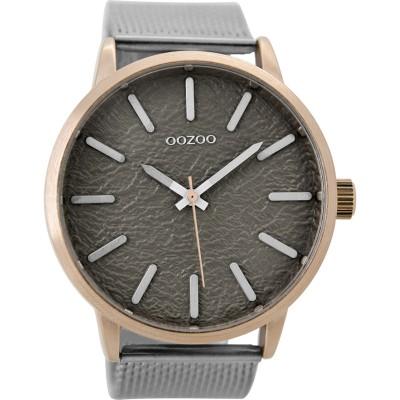 OOZOO Timepieces horloge Grijs 48mm