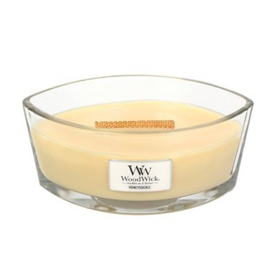 Woodwick Honeysuckle Candle Ellips