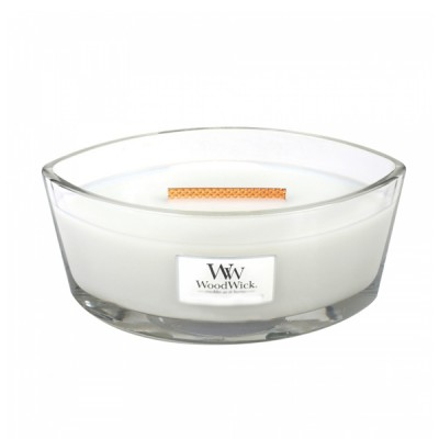 Woodwick Linen Candle Ellips