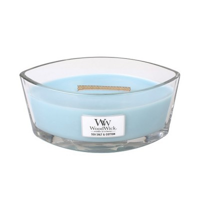 Woodwick Sea Salt Cotton Candle Ellips