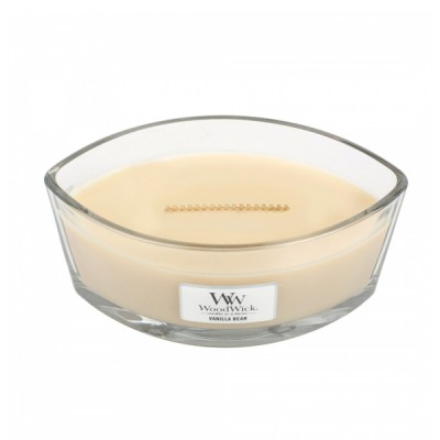 Woodwick Vanilla Bean Candle Ellips