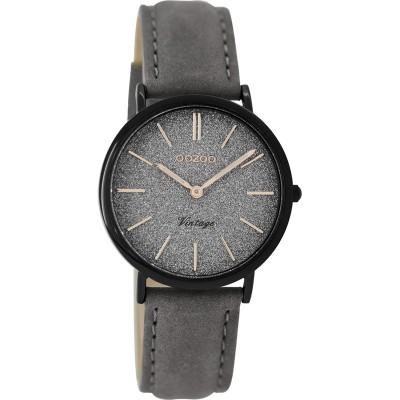 OOZOO Vintage horloge Grijs 32mm