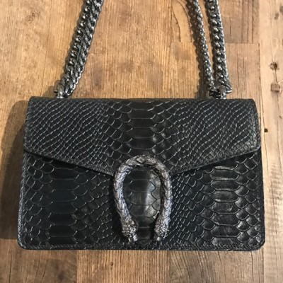 Inspired Bag snake black