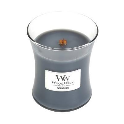 Woodwick Evening Onyx Candle Medium