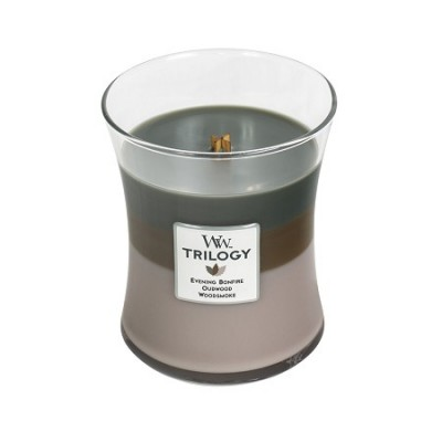 Woodwick Trilogy Cozy Cabin Medium