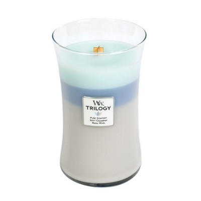 WoodWick Woven Comfort Trilogy Large Candle