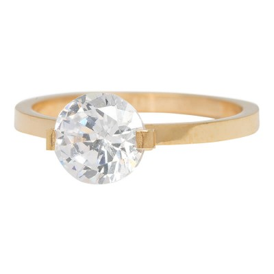 iXXXi Ring Glamour Stone Crystal Gold R4201-1