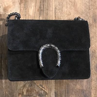 Inspired Bag suede Black