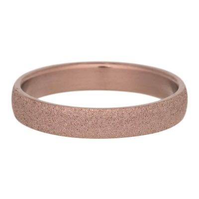 iXXXi Sandblasted ring 4 mm Mat Bruin