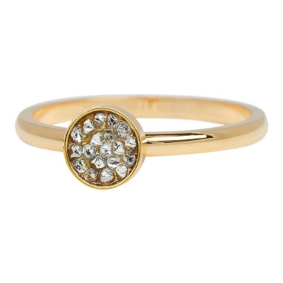 iXXXi Ring Cup Stones Goud R4202-1