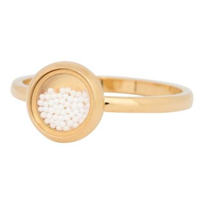 iXXXi Ring White Balls goud R4317-1