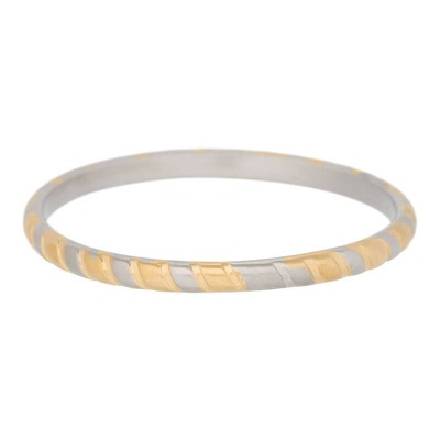 iXXXi Ring Rope  R4501-12 mat goud/zilver