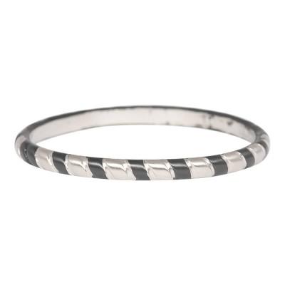 iXXXi Ring Rope  R4501-14 mat zilver/zwart