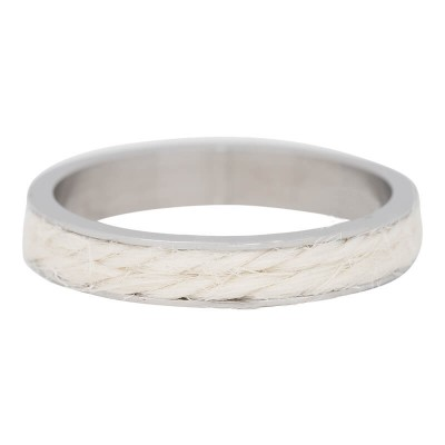 iXXXi Ring White Rope 4 mm