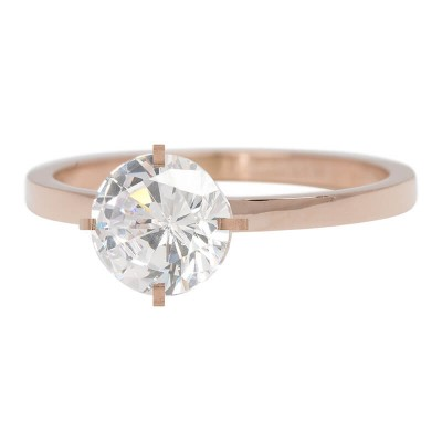 iXXXi Ring Secure Crystal Rose R4801-2
