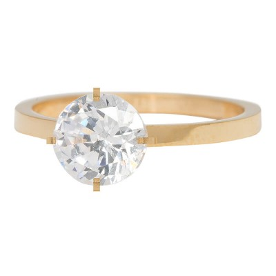 iXXXi Ring Secure Crystal goud R4801-1