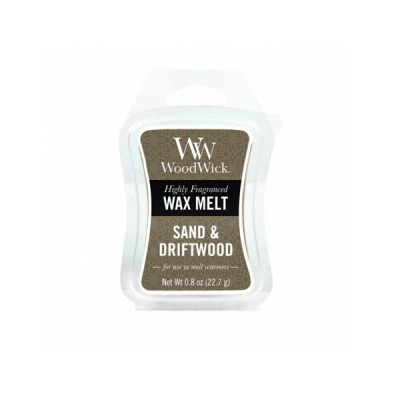 Woodwick Sand and Driftwood Wax Melt