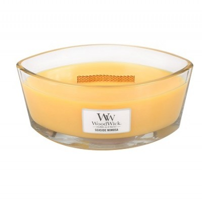 Woodwick Seaside Mimosa Candle Ellips