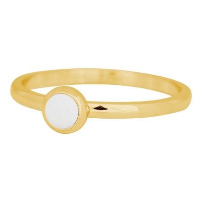 iXXXi Ring Bright white goud R4108-1