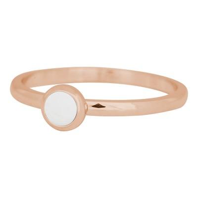 iXXXi Ring Bright white rose R4108-2