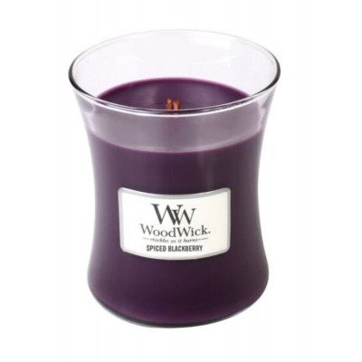 Woodwick Spiced Blackberry Candle Medium