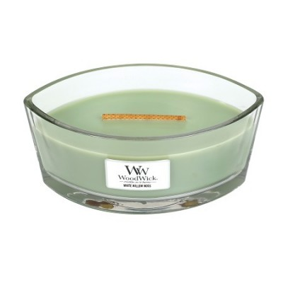 Woodwick White Willow Moss Candle Ellips