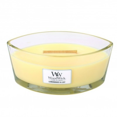 Woodwick Lemongrass & Lily Candle Ellips