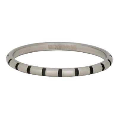 iXXXi Ring Stripes Zilver R2811-18
