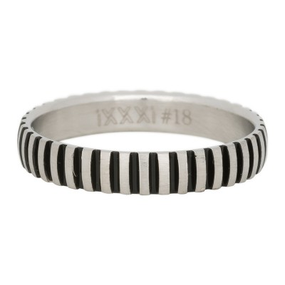 iXXXi Piano Ring Zilver 4mm