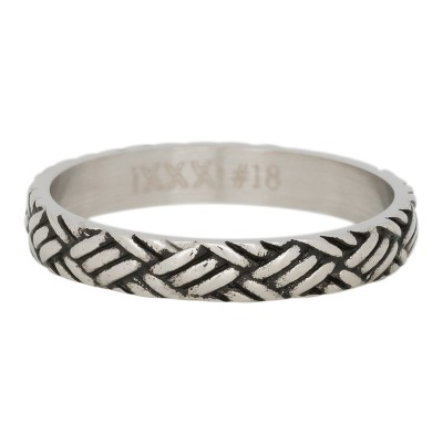 iXXXi Love Knot Ring Zilver 4mm