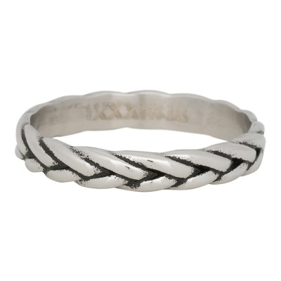 iXXXi Wheat Knot Ring Zilver 4mm