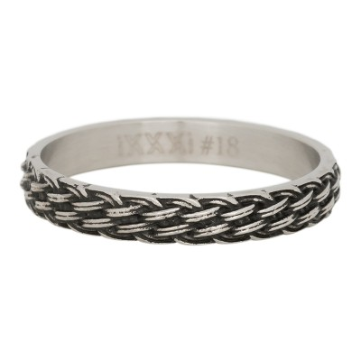 iXXXi Lucky Knot Ring Zilver 4mm