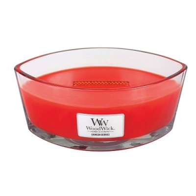 Woodwick Crimson Berries Candle Ellips