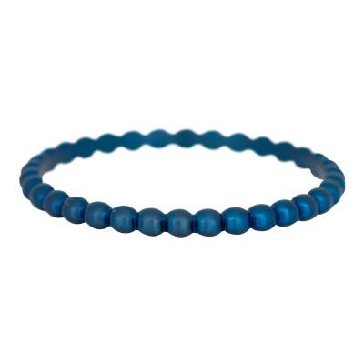 iXXXi Bolletjes ring 2mm blauw