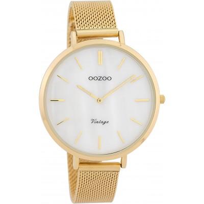 OOZOO Vintage horloge Goud 40mm C9392