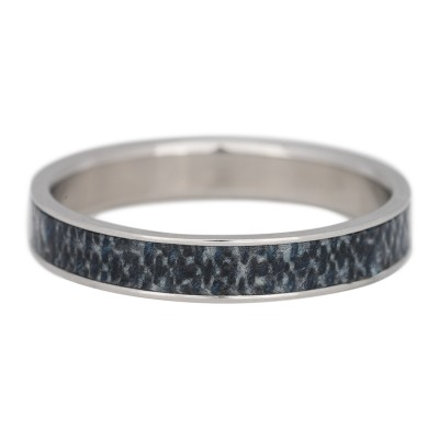 iXXXi Jeans ring 4mm zilver
