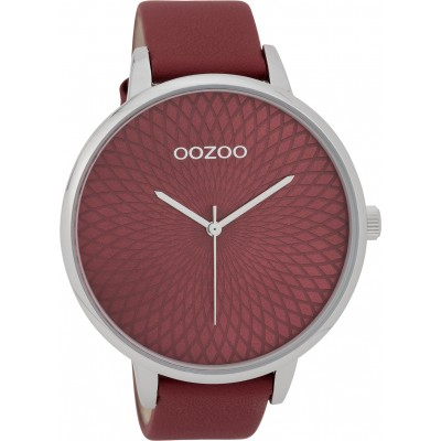 OOZOO Timepieces horloge Bordeaux 48mm C9727