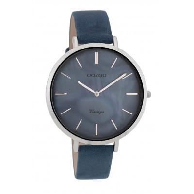 OOZOO Vintage horloge Blauw 40mm C9808
