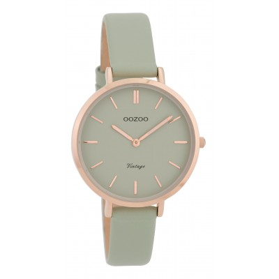 OOZOO Vintage horloge Grijs 34mm C9810