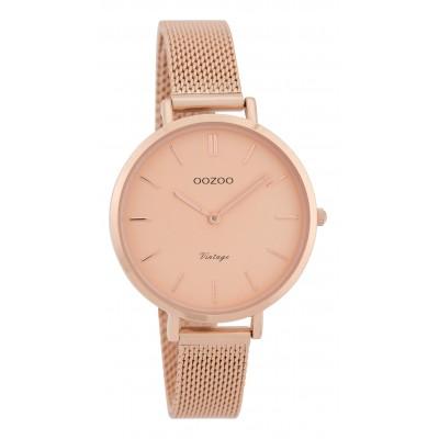OOZOO Vintage horloge Rose 34mm C9823