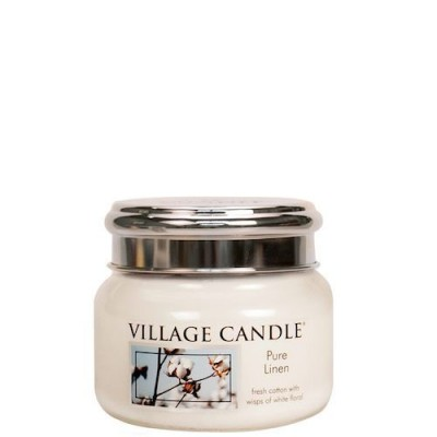 Village Candle Small Jar Pure Linen