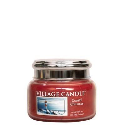 Village Candle Small Jar Coastal Christmas