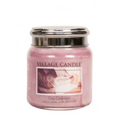Village Candle Medium Jar Cozy Cashmere